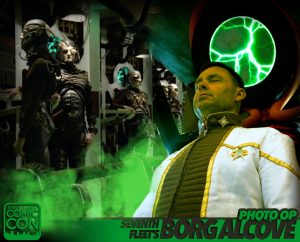 The Seventh Fleet will be hosting the Borg Alcove photo op at Salt Lake Comic Con 2016. Booth # TBA
