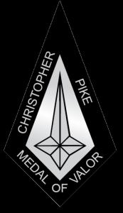 Christopher Pike Medal of Valor black
