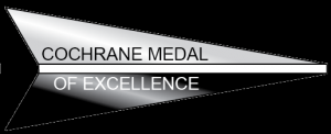 Cochrane Medal of Excellence black