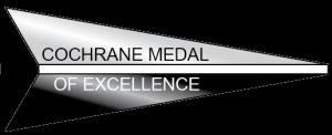 Cochrane Medal of Excellence black