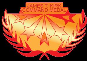 James T Kirk Command Medal black