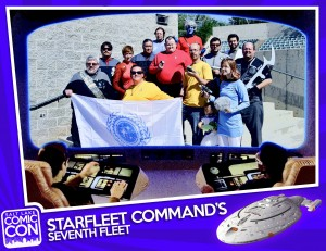 The Seventh Fleet will be in full force at the upcoming Salt Lake Comic Con on September 4-6.