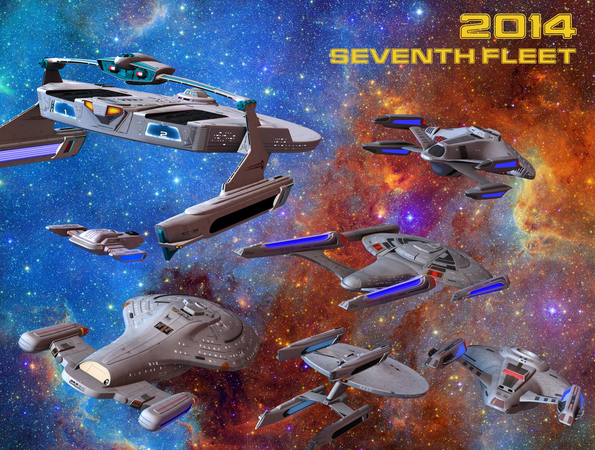 Starfleet Command's Seventh Fleet | A Free Star Trek Fan
