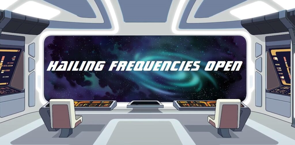 Hailing Frequencies Open logo