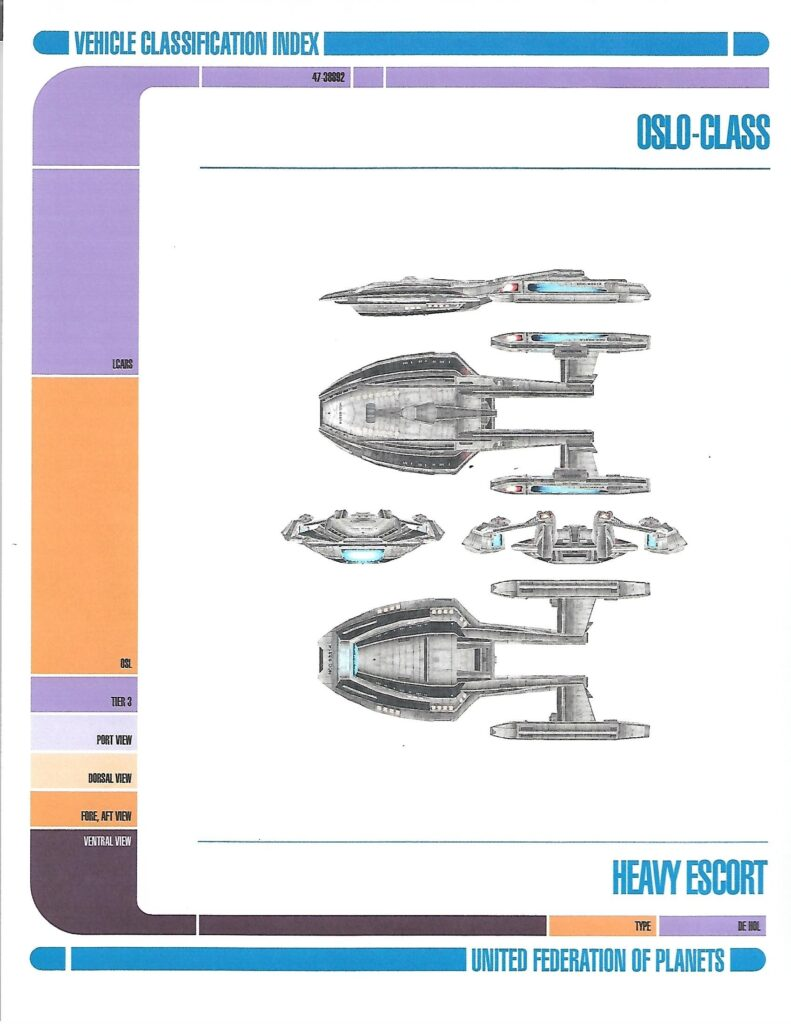 Oslo-Class Starship page 2