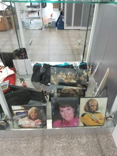 Library Star Trek Display 2019